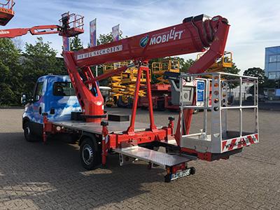 Foto von Mobilift LKW-Arbeitsbühne / Hubsteiger L250