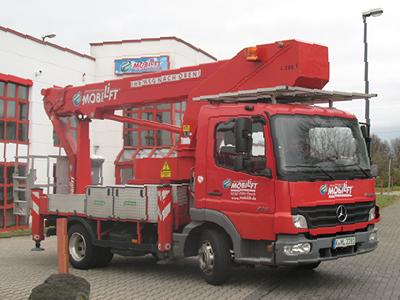 Foto von Mobilift LKW-Arbeitsbühne / Hubsteiger L280-001