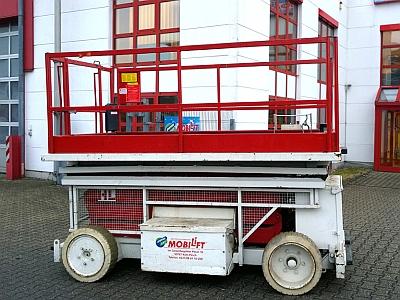 Leistungsstark ✅Innen+Außen ✅Bis 9,80 m Arbeitshöhe ✅850 kg Traglast ✅Flexibel am Einsatzort ✅Jetzt reservieren ☎0221-88811020