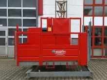 Stahlmastgeführter Aufzug ✅150 m Arbeitshöhe ✅1.200 kg max. Traglast  ✅Zahnstangenantrieb ✅Jetzt reservieren ☎ 0221 - 888 110 200