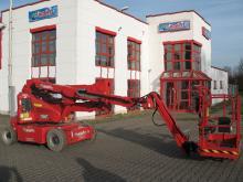 Schwergewichtige Arbeitsbühne ✅14,20 m Arbeitshöhe ✅Mit großem Arbeitskorb ✅ Batterie mit Dieselgenerator ✅Jetzt reservieren ☎ 0221 - 888 110 200